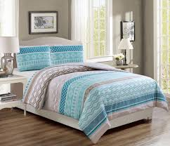 Taupe Comforter Sets Queen Teal Taupe Comforter Set
