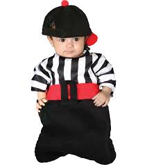 Ref Costumes Halloween Infant Referee Foul Bunting Halloween Costume Size 0 6 Months