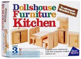 dollhouse furniture kitchen traditional wooden toys dollhouse furniture kitchen