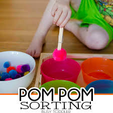 17 pom pom activities for toddlers busy toddler
