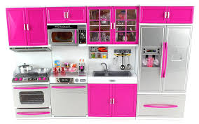 amazon com doll playsets my modern kitchen 32 full deluxe kit