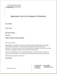 6 appreciation letter templates for ms word document templates