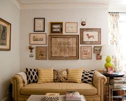 Gold Sofa Living Room Amazing Wall Picture Collage Ideas Fascinating Eclectic Living