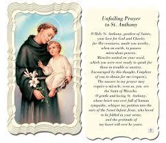st anthony catholic church patron st anthony