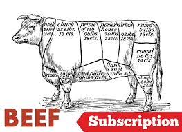 beef of the month grassfed beef subscription 156 00 month 16 lbs seasonal beef