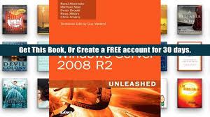 pdf windows server 2008 r2 unleashed rand morimoto pre order