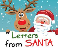 letter from santa santa letter letter from santa