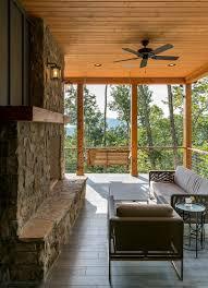 crafstman waynesville mountain modern craftsman house acm design