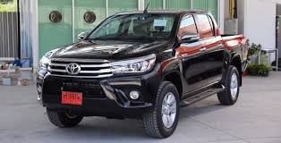 toyota new model car 2015 2016 toyota hilux revo vigo major change model