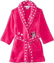 robe de chambre fille disney minnie mouse nh2080 robe de chambre fille bright