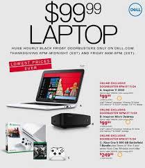 dell black friday deals 2016 99 dell inspiron laptop more