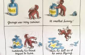 curious george huffing ether fatherly