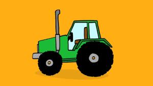 tracteur en bois apprendre à dessiner un tracteur youtube