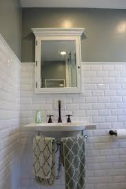 Bathroom Subway Tile by Bathroom Subway Tile Bathroom Floor Floor Mount Tub Faucet Bras