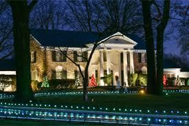 graceland christmas memphis christmas lights christmas at