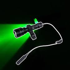 green light for hog hunting new green light led hog night hunting flashlight for rifle w scope