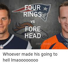 Broncos Patriots Meme - whoever made his going to hell lmaoooooooo whoever made his going