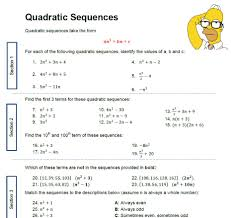 sequences solve my maths