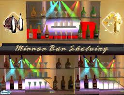 Bar Mirror With Shelves by Simaddict99 U0027s Mirror Bar Shelves