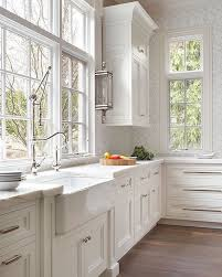 Best  Classic White Kitchen Ideas On Pinterest Wood Floor - Classic kitchen cabinet