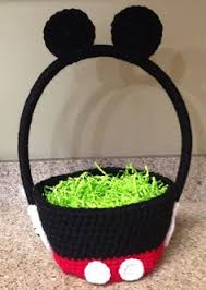mickey mouse easter baskets diy mickey mouse easter basket sponsored disneyeaster make