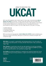how to master the ukcat 600 practice questions amazon co uk