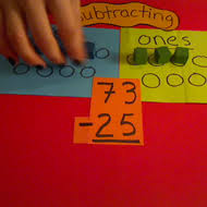 subtracting two digit numbers with regrouping tutorial sophia