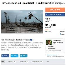 how to raise money and fundraise for puerto rico hurricane maria
