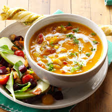 thanksgiving butternut squash soup hearty butternut squash soup recipe taste of home