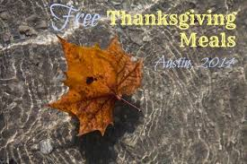 free thanksgiving meals in 2014 free in