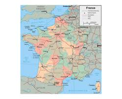 Andorra Map Maps Of France Detailed Map Of France In English Tourist Map