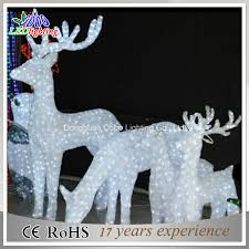 lighted reindeer china outdoor white lighted reindeer for led christmas decorations