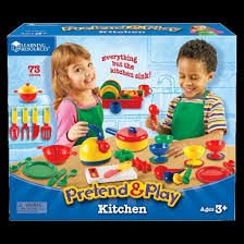learning resources pretend and play kitchen set target