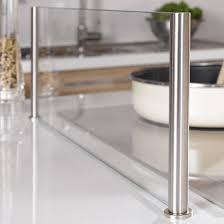 anti projection en verre cuisine