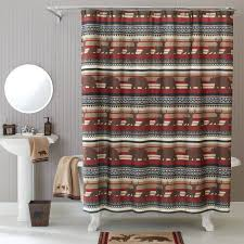 Outdoors Shower Curtain by Better Homes And Gardens Deer Stripe Fabric Shower Curtain