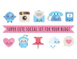 Best Blog Designers Blog Design Kit Vector Files Blog Social Kit Blog