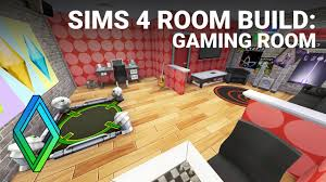 sims 4 gaming room room build youtube