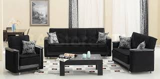 sofa sets vermont 3 pc black sofa set sofa loveseat and chair