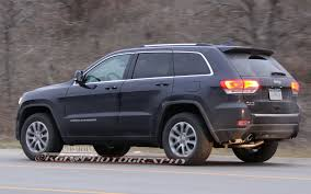 caught refreshed 2014 jeep grand cherokee completely revealed
