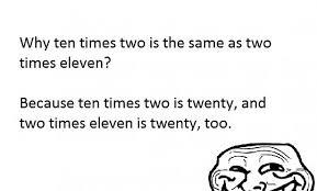 Meme Math Problem - problem maths the meta picture