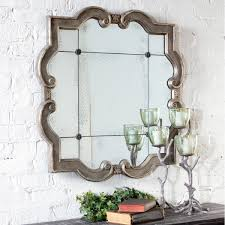 Designer Wall by Decoration Incredible Designer Round Bathroom Mirrors With Brick