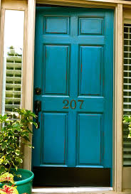 Front Door Red by Best 25 Turquoise Front Doors Ideas On Pinterest Turquoise Door