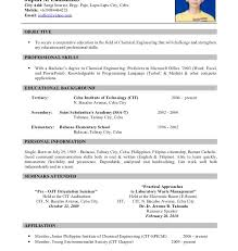 Resume Sampl by Good Looking Resume Sample With Picture Shining Resume Cv Cover