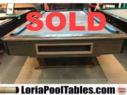 ebonite pool table 3 piece slate pre owned pool table sale immediate delivery set up loria awards