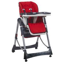chaise haute bébé pliable réglable hauteur dossier et tablette