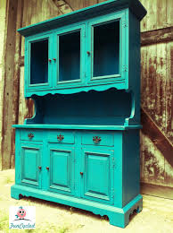 tuesday u0027s treasures u2013 vintage teal hutch and red french provincial