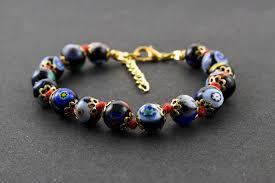 murano bead bracelet images Murano glass murrini bracelet venice handmade millefiori jpg