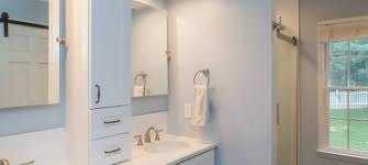 Bathroom Remodel Small Spaces A Gorgeous Bathroom Remodel With A Tile Shower White Trim And A