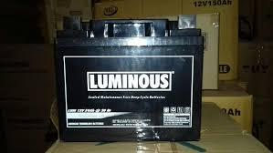 Jual Lu Dc 12v jual battery untuk solar cell aki vrla luminous 12v 50ah solar