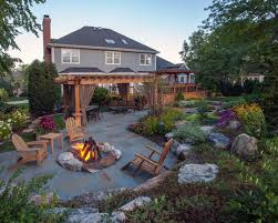 Pictures Of Patios With Fire Pits Backyard Fire Pit Ideas Houzz